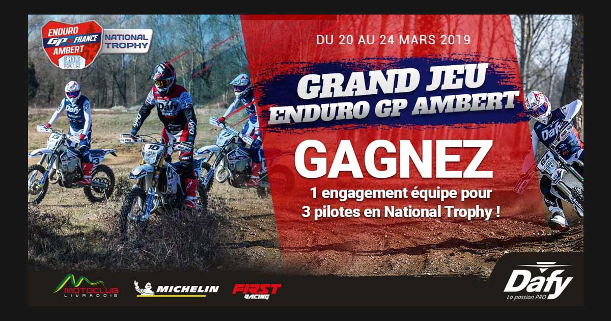 Grand jeu Enduro GP Ambert